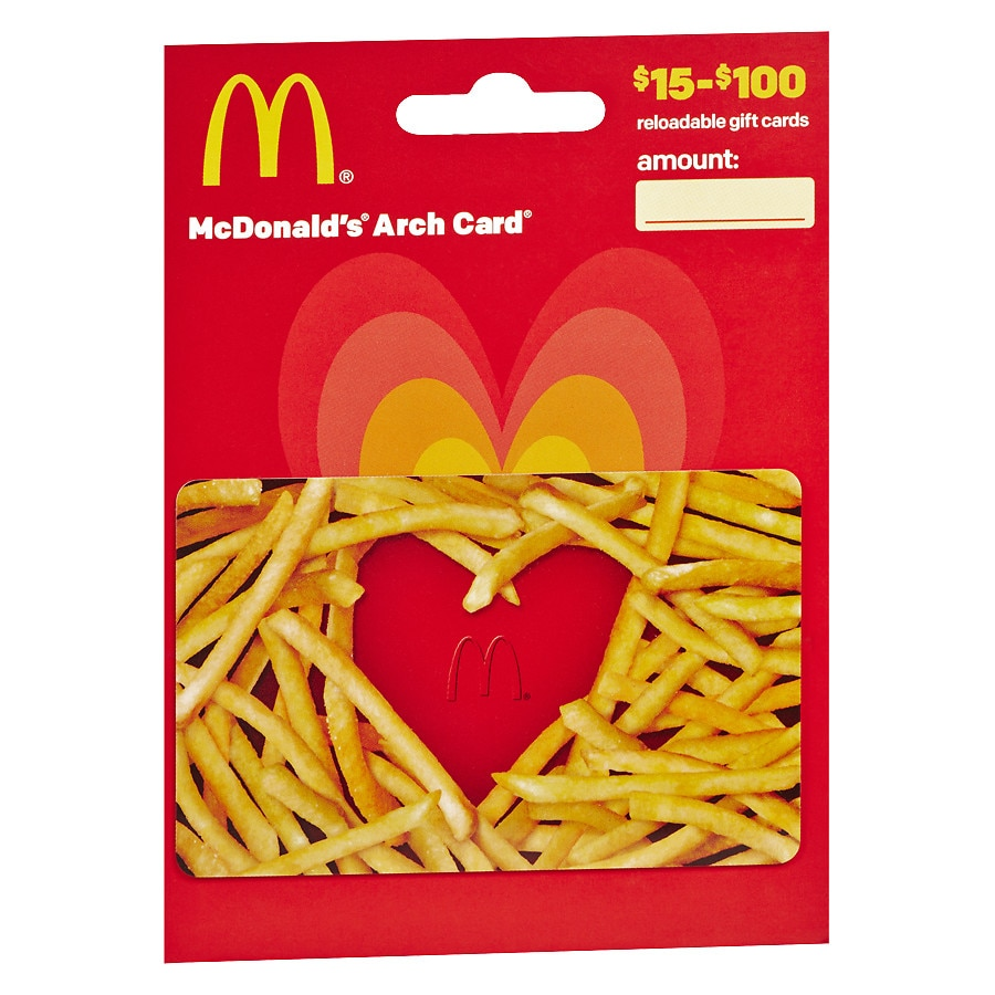 Mcdonalds non denominational gift card walgreens product large image 1betcityfo Image collections