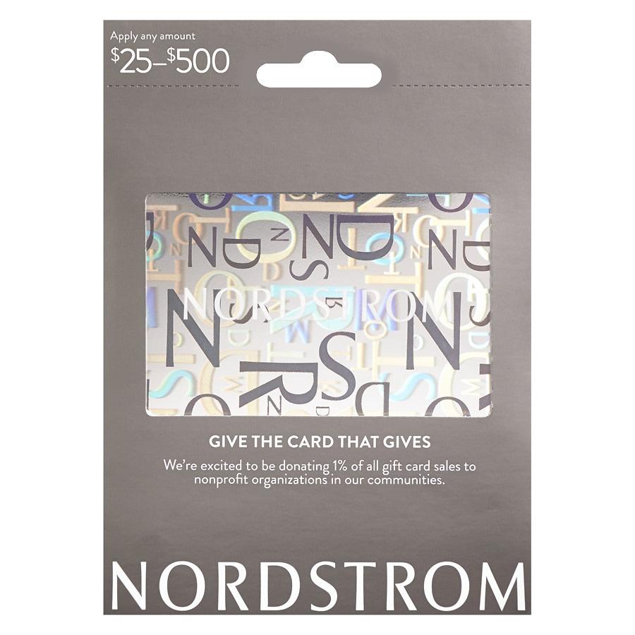 NORDSTROM Non-Denominational Gift Card1.0 ea
