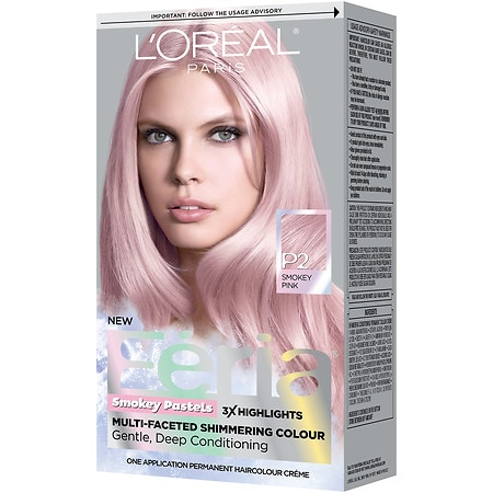L\'Oreal Paris Feria Smokey Pastels Permanent Haircolor | Walgreens
