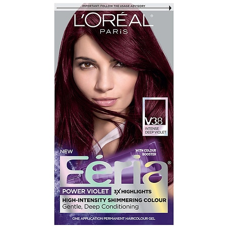 L'Oreal Paris Feria Power Violet Permanent Haircolor ...