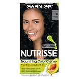 Garnier Nutrisse Nourishing Hair Color Creme Blackest Black 11