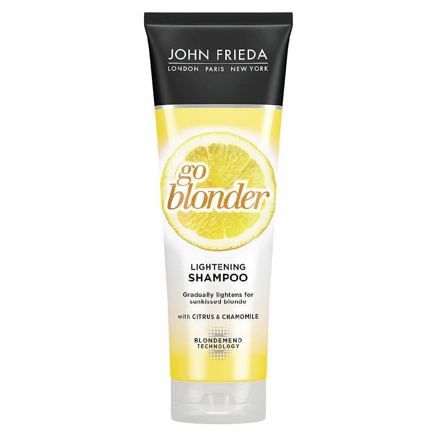 john frieda sheer blonde go blonder lightening shampoo walgreens. Black Bedroom Furniture Sets. Home Design Ideas