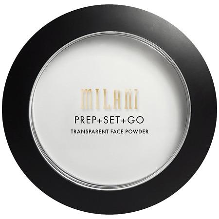 Milani Prep + Set + Go Transparent Face Powder - 0.22 oz.