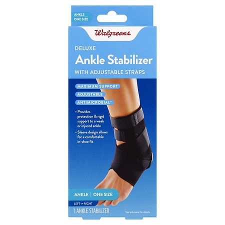 Walgreens Deluxe Ankle Stabilizer One Size - 1 ea