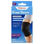 Walgreens Knee Compression Sleeve S/ M