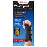 Walgreens Copper Wrist Splint Right