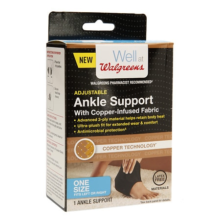 Walgreens Copper Ankle Support - 1 ea