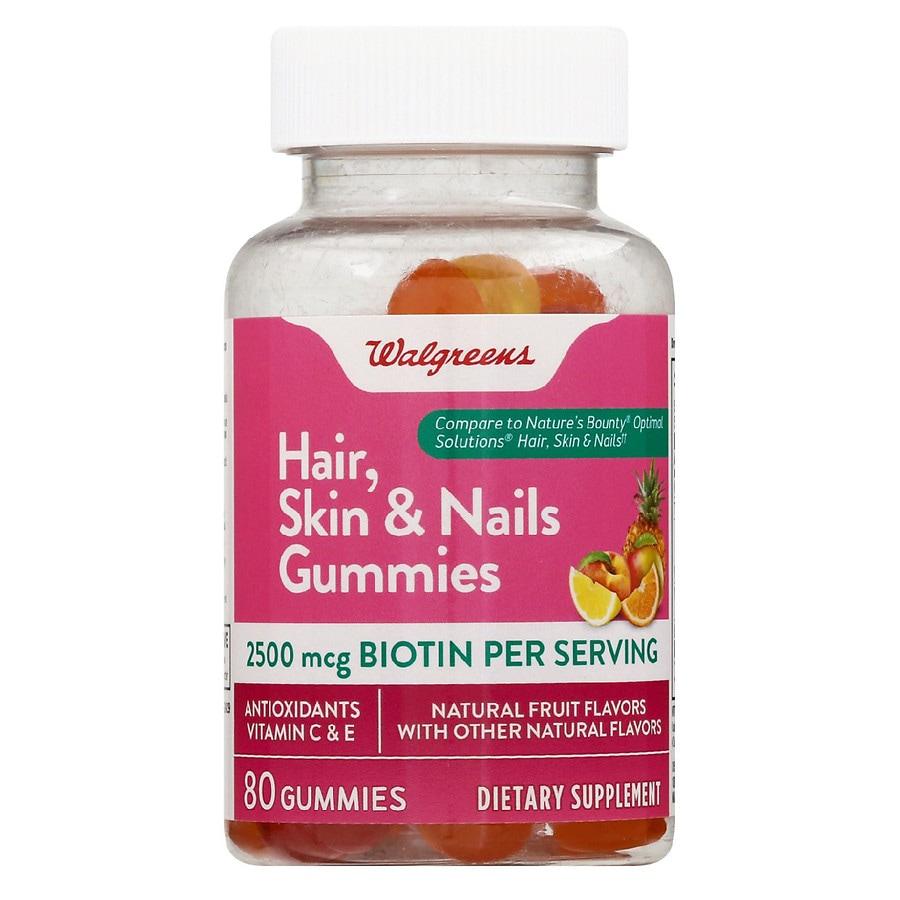 Walgreens Hair Skin Nails Gummies