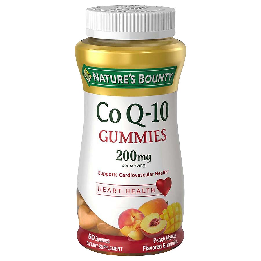 Nature's BountyCoQ10 200 mg Gummies Peach Mango 60.0ea