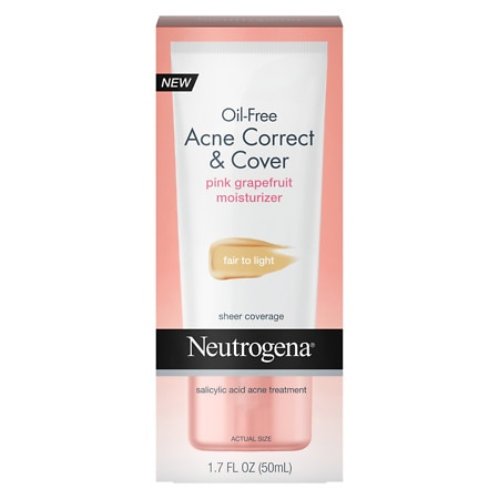 Neutrogena Oil-Free Acne Correct & Cover - 1.7 oz.