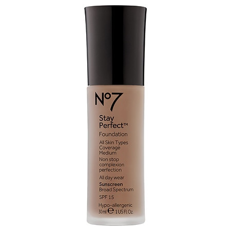 No7 Stay Perfect Foundation SPF 15 - 1 oz.
