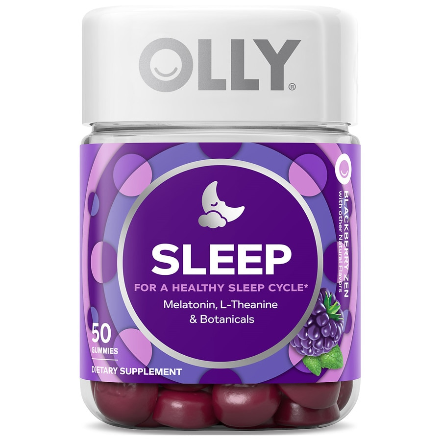 Olly Restful Sleep Blackberry Zen Walgreens