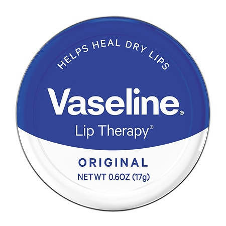Vaseline Lip Balm Tin Original - 0.6 oz.