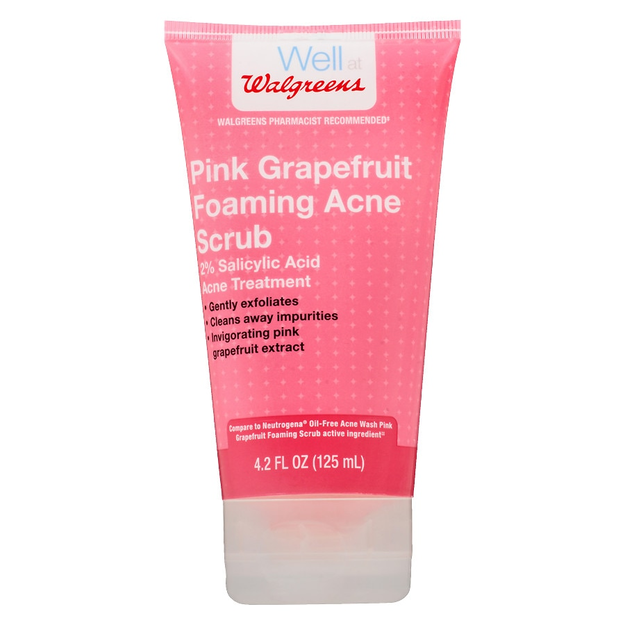 Walgreens Pink Grapefruit Facial Scrub