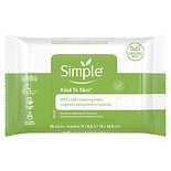 Simple Facial Wipes Micellar
