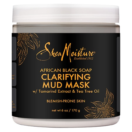 African Black Mud Mask - 6 oz.