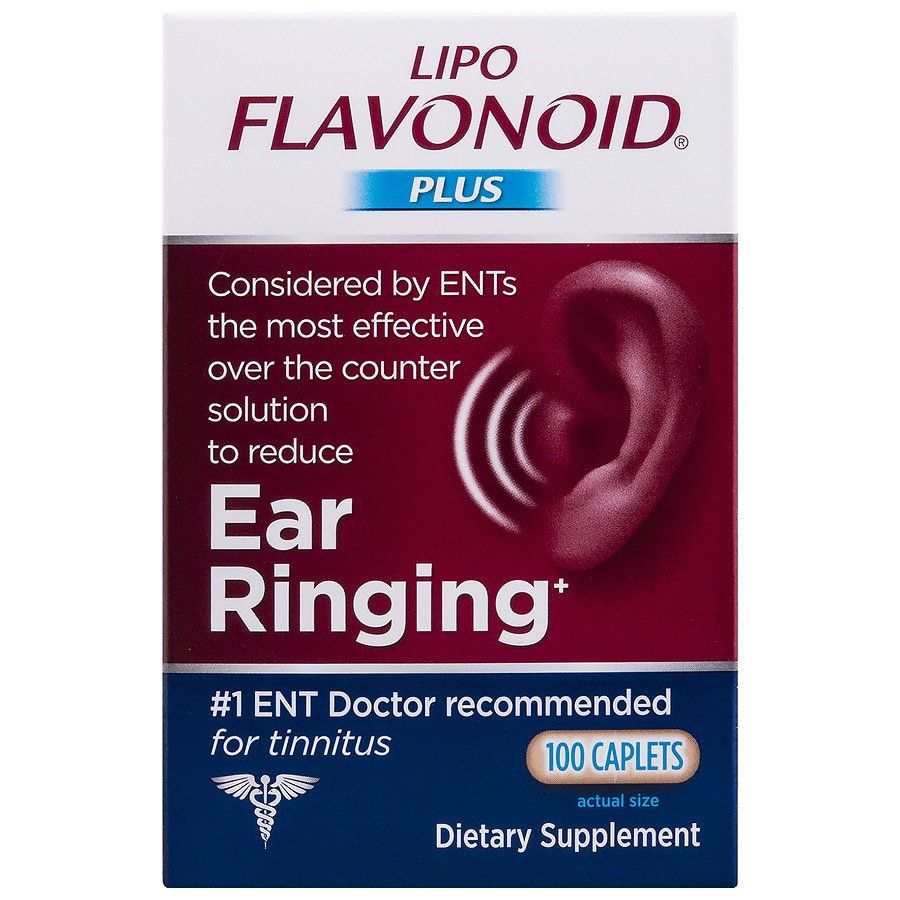 Lipo Flavonoid Plus Ear Health Formula Caplets Walgreens