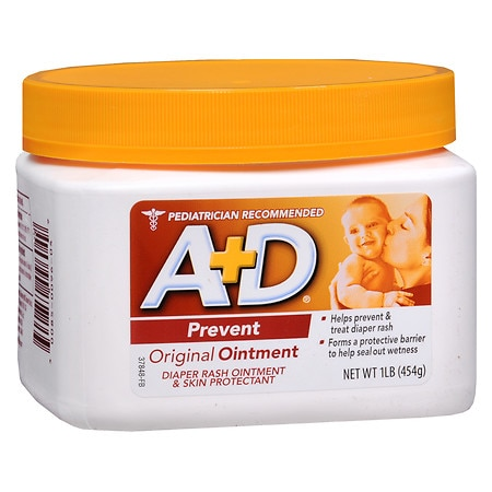 A+D Original Ointment 1 lb jar (Square tub) - 16 oz.