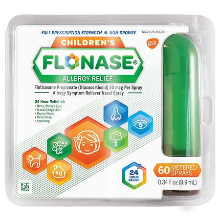 Children's Flonase Allergy Relief Spray 60 metered