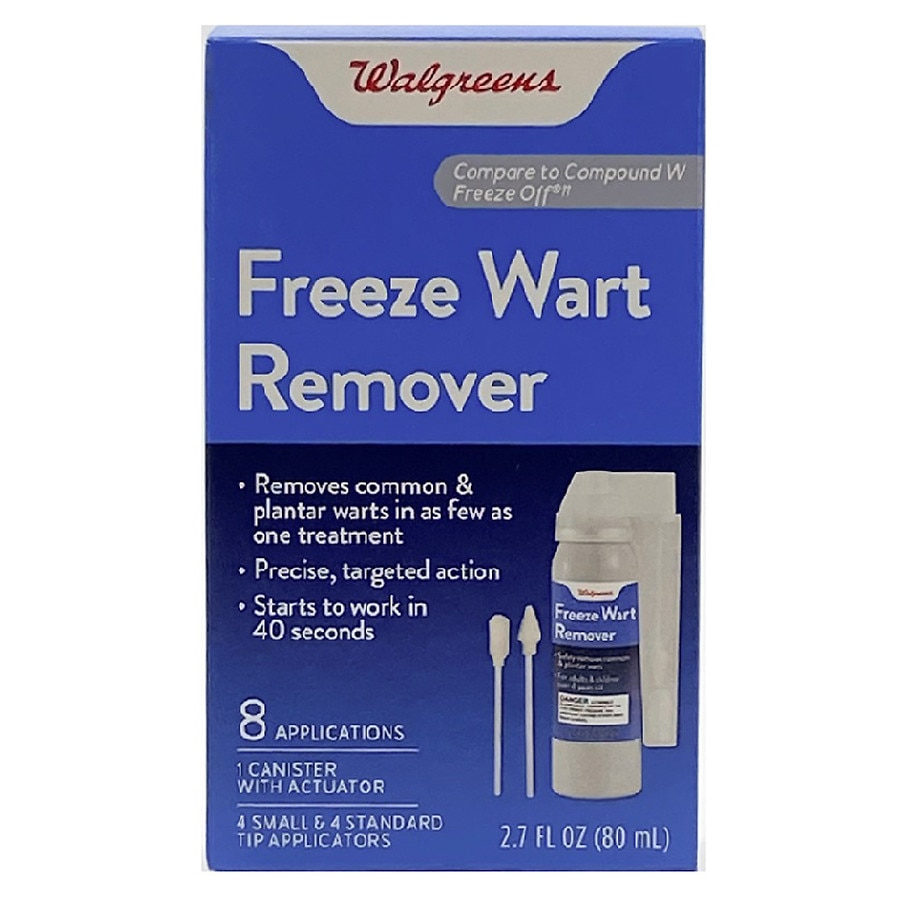 Walgreens Freeze Wart Remover