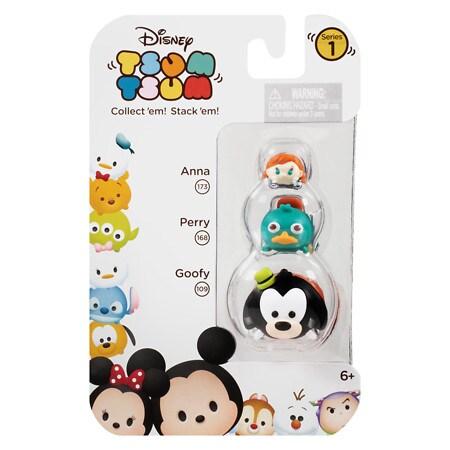 Disney Tsum Tsum Plush Toys Assortment - 3 ea