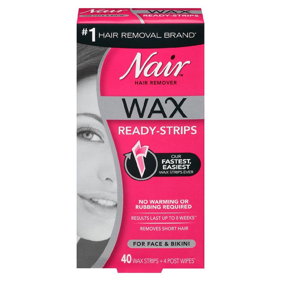 Nair Wax Ready Strips Face Walgreens