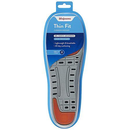 Walgreens Thin Fit Men's Insoles 7-13 - 1 ea