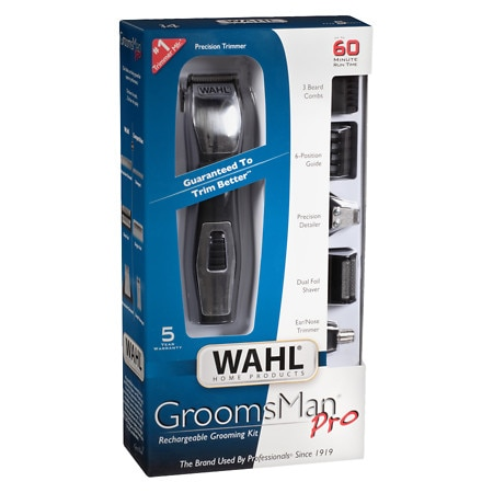 Wahl Groomsman Pro Rechargeable Trimmer 9855 300 Walgreens