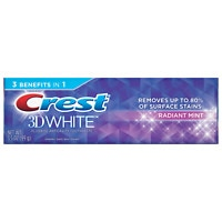 Walgreens.com deals on Crest 3D White Whitening Toothpaste Radiant Mint 3.5 oz