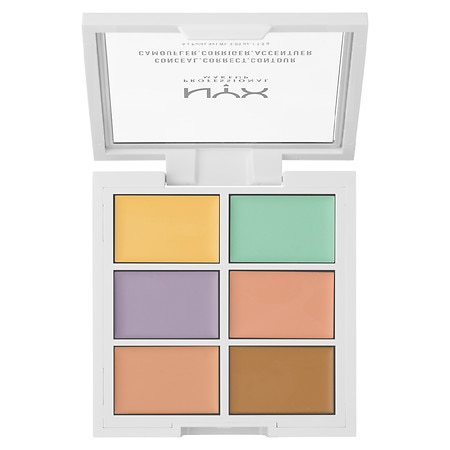 NYX Professional Makeup Color Correcting Concealer Pallete - 0.05 oz.