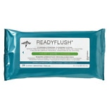 Medline ReadyFlush Biodegradable Flushable Wipes Scented