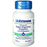 Life Extension Enhanced Super Digestive Enzymes with Probiotics