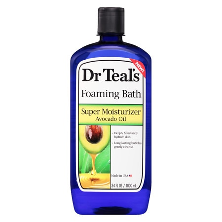 Dr. Teal's Moisture Therapy Foaming Bath - 34 oz.