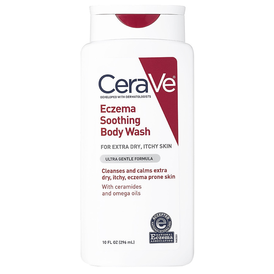CeraVe Eczema Soothing Body Wash for Extra Dry and Itchy Skin