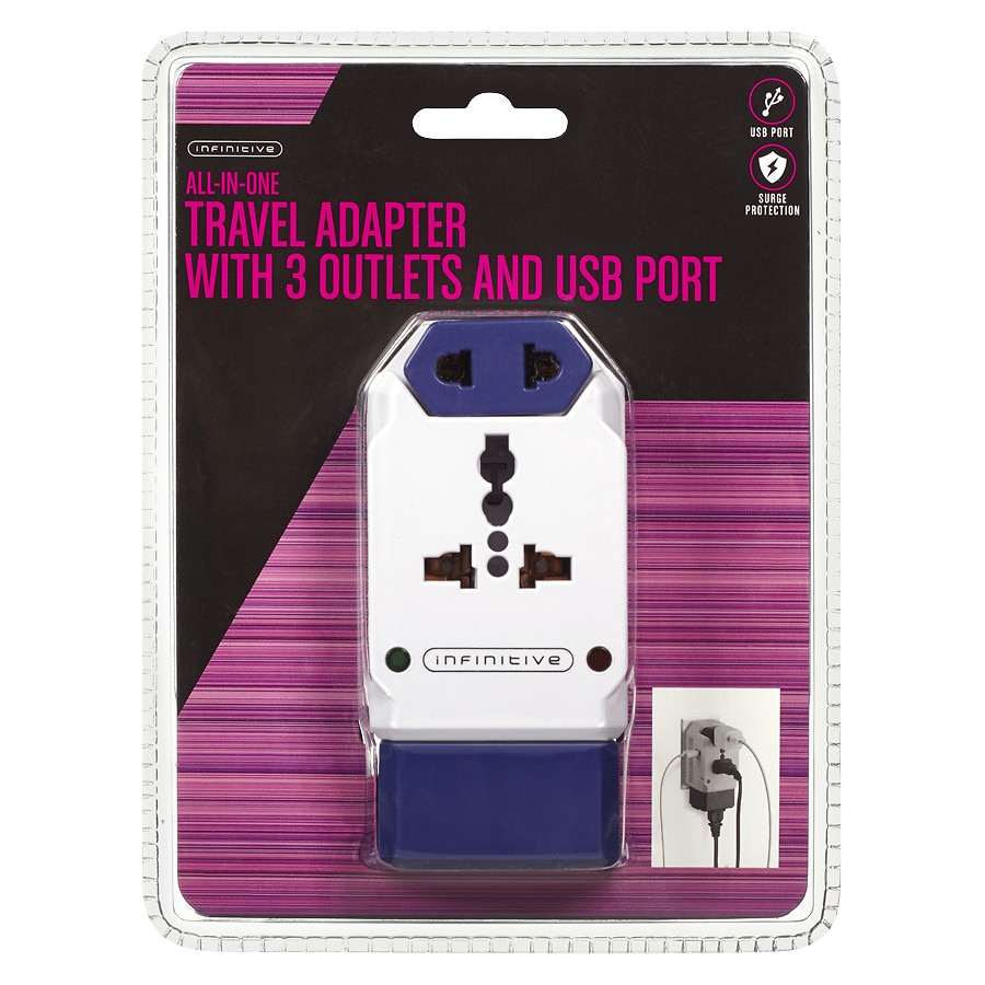 Infinitive On The Go Adapter 3 Ol Usb White Walgreens