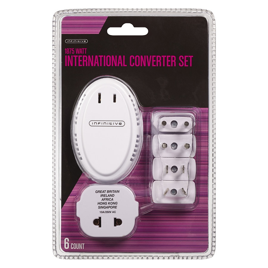 Infinitive On The Go Adapter Converter 1875 White1 0 Ea