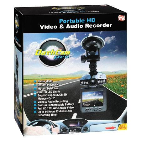 As Seen On TV Dashcam Pro - 1 ea