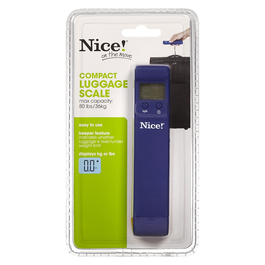 Nice On The Move Compact Luggage Scale Walgreens