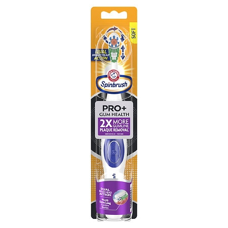 SpinBrush by Arm & Hammer Spinbrush Clean & Fresh Battery Toothbrush - 1 ea
