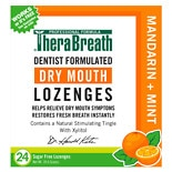 TheraBreath Lozenges Mandarin Mint, Natural Mandarin Mint