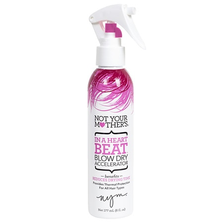 Not Your Mother's In A Heartbeat Blow Dry Accelerator - 8 oz.