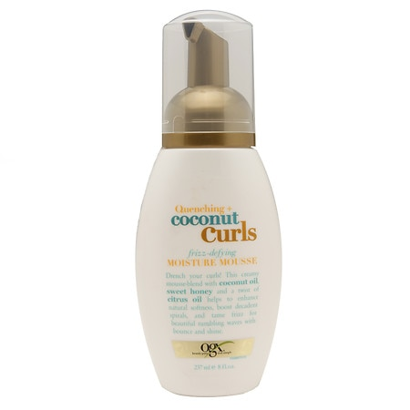 Ogx Quenching Coconut Curls Moisture Mousse Walgreens