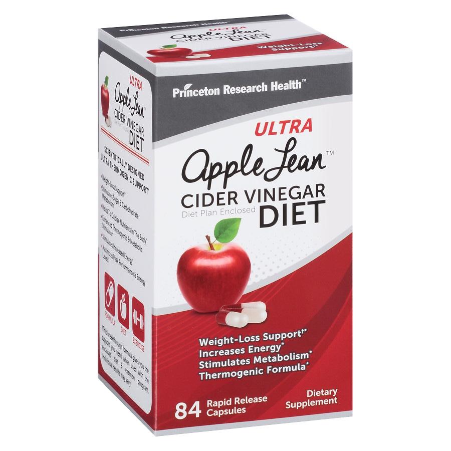 Princeton Research Ultra Apple Lean Cider Vinegar Diet
