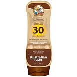 Australian Gold SPF 30 Sunscreen Lotion with Bronzers Tropical