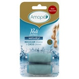 Amope Pedi Perfect Wet & Dry Rechargeable Foot File Refills Regular Coarse