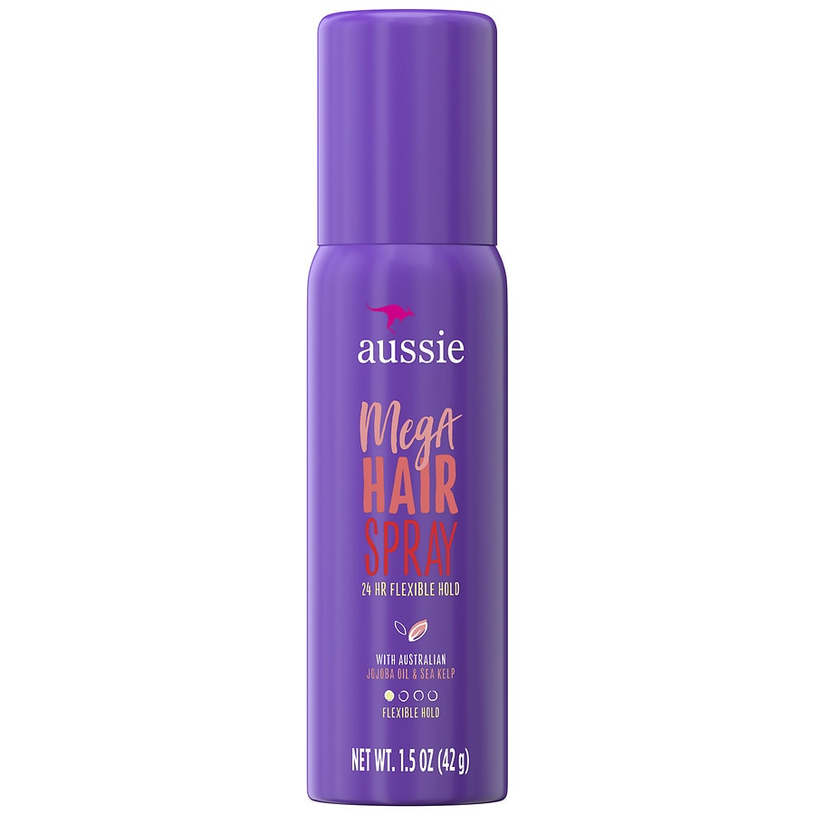 Aussie Mega Hair Spray 24 Hour Flexible Hold1.5 Oz by Walgreens