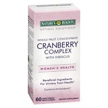 Nature's Bounty Optimal Solutions Cranberry with Hibiscus,  Softgels