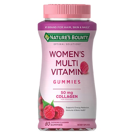 Nature's Bounty Optimal Solutions Women's Multi 50 mg, Gummies - 80 ea
