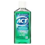 ACT Restoring Anticavity Fluoride Mouthwash Alcohol Free Mint Burst