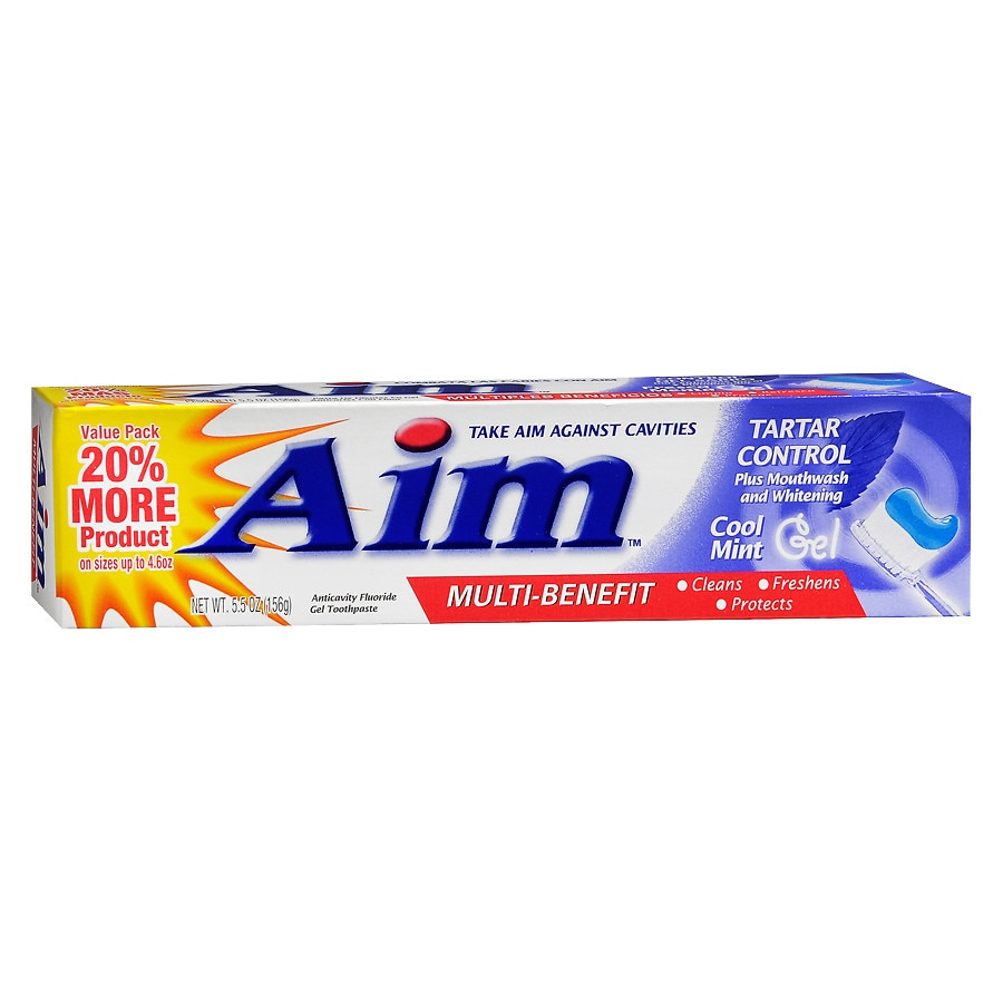 Coupons aim toothpaste